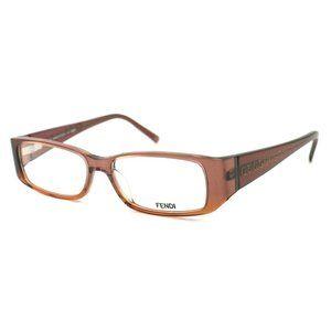 Fendi Rectangular Style Brown Frame